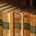 Подредени книги
