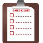 Основно почистване – Check List